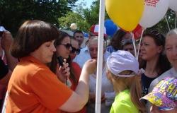 DSC01192-250x160-1b010c8c757bf6bb9ac5678186e8326d 28.05.2016: ROMANOVA TRAVEL приняла участие в туристической ярмарке в честь Дня Города