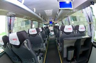 автобус хайгер 47 мест схема салона