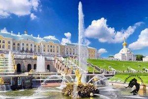 15.09-19.09.2017 Санкт-Петербург. Закрытие фонтанов в Петергофе (группа 2)